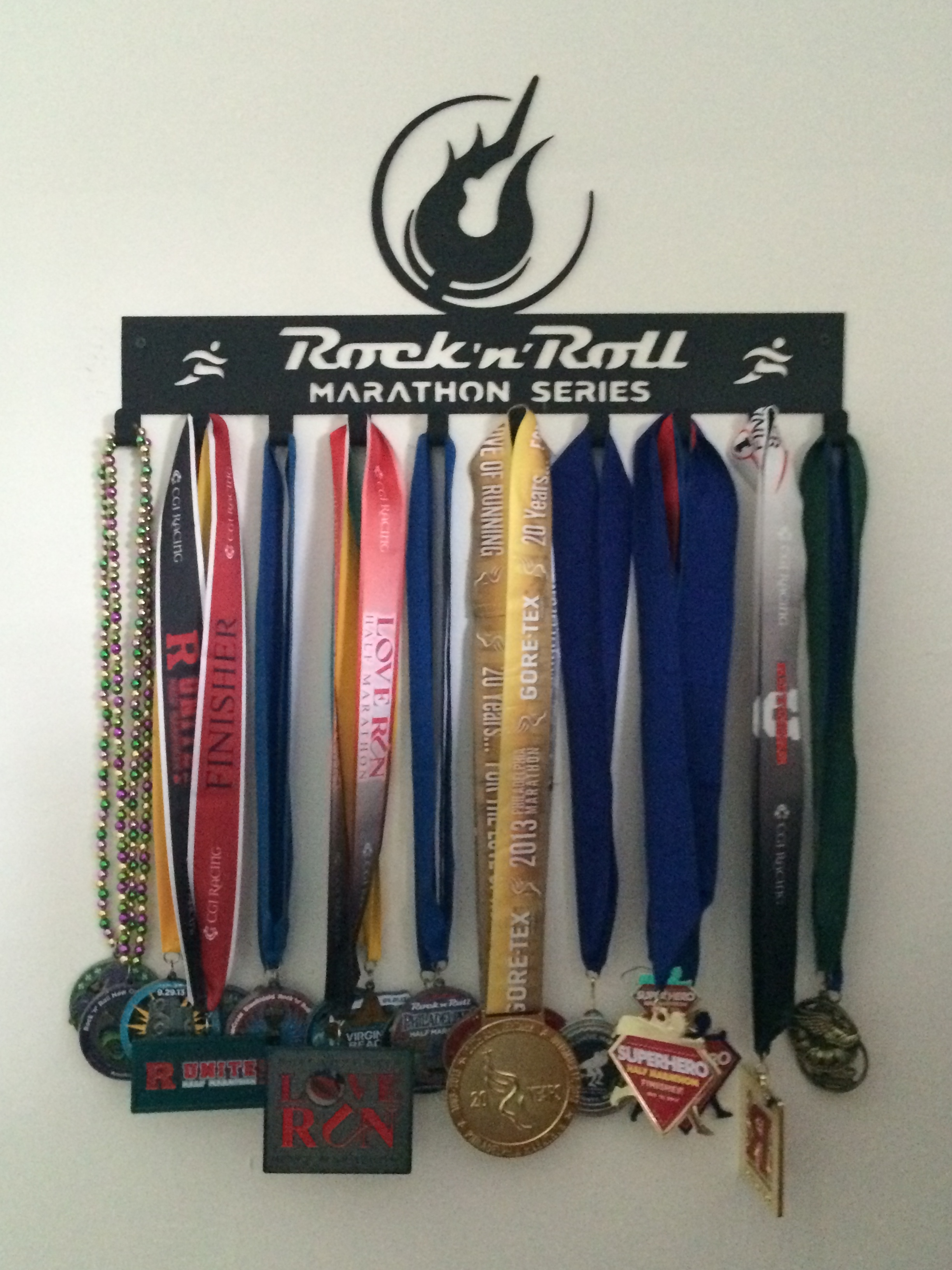 Mike's Running Medals
